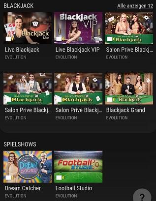 Casino VIP Casino en direct
