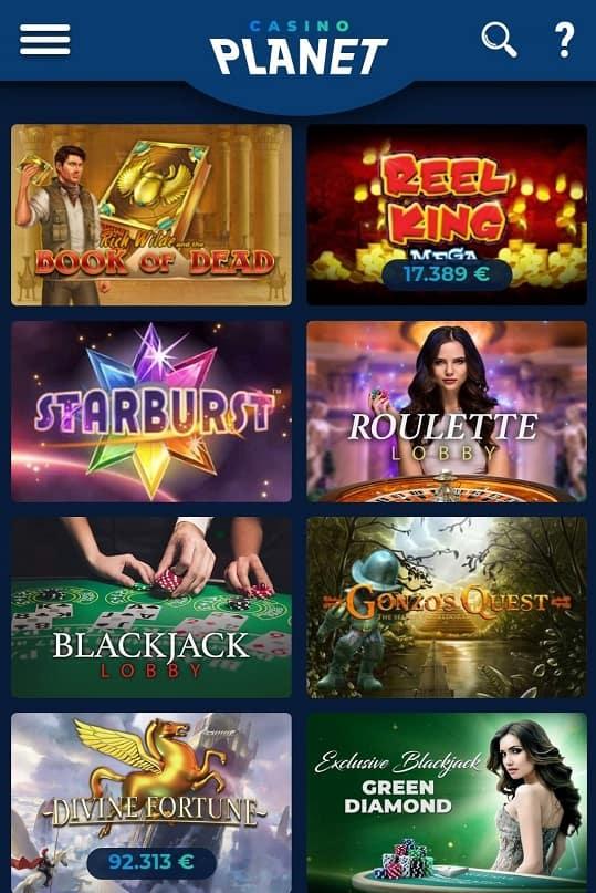 jeux de planetes de casino