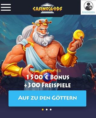 bonus de dieux de casino