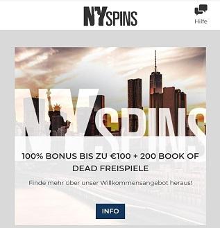 bonus nspins