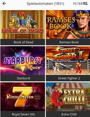machines a sous de casino betsson