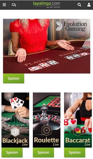 casino en direct de lapalingo