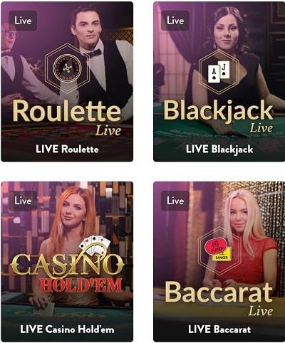 casino en direct dunder