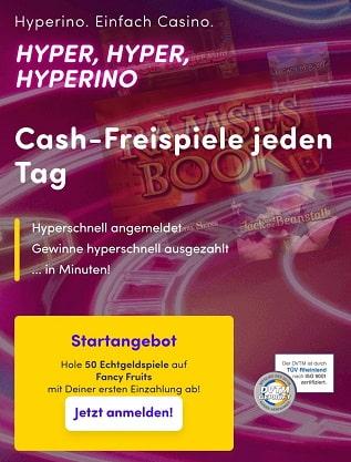 bonus de casino hyperino