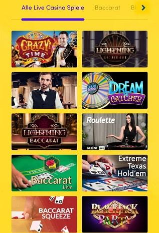 casino en direct hyperino