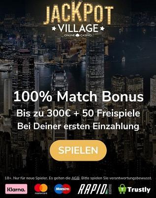 bonus village jackpot