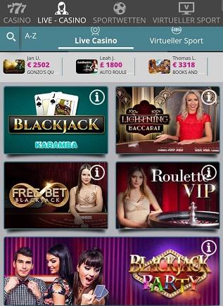 casino en direct de karamba