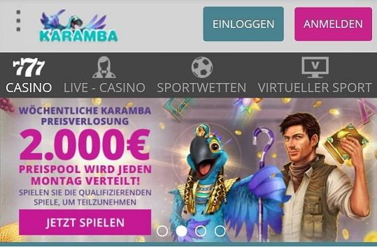 promotions karamba