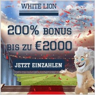 bonus de casino lion blanc