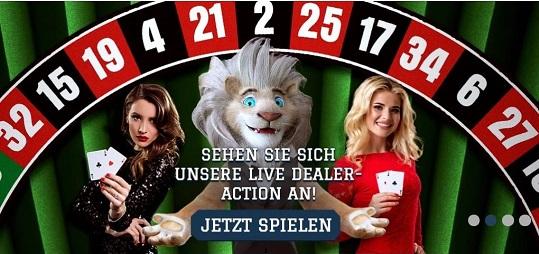 casino en direct du lion blanc