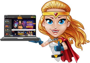 site Web et application du casino magique des gagnants
