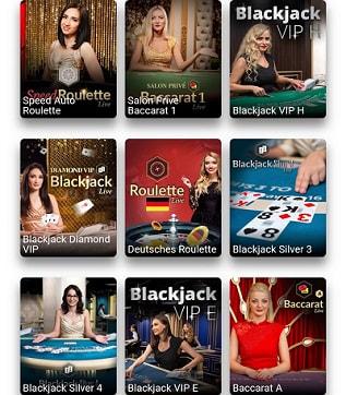 casino en direct magique des gagnants