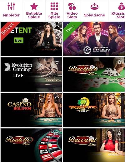 Casino en direct de Slottojam