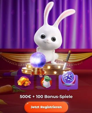 Bonus de 500 euros du casino cadabrus