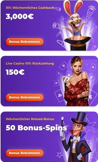 offres de bonus de casino cadabrus