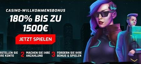 bonus de cyber casino 3077