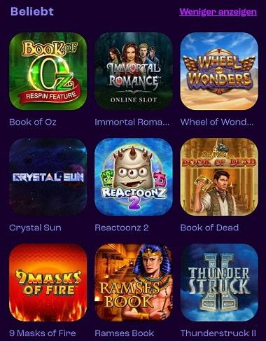 Jeux de casino Wheelz